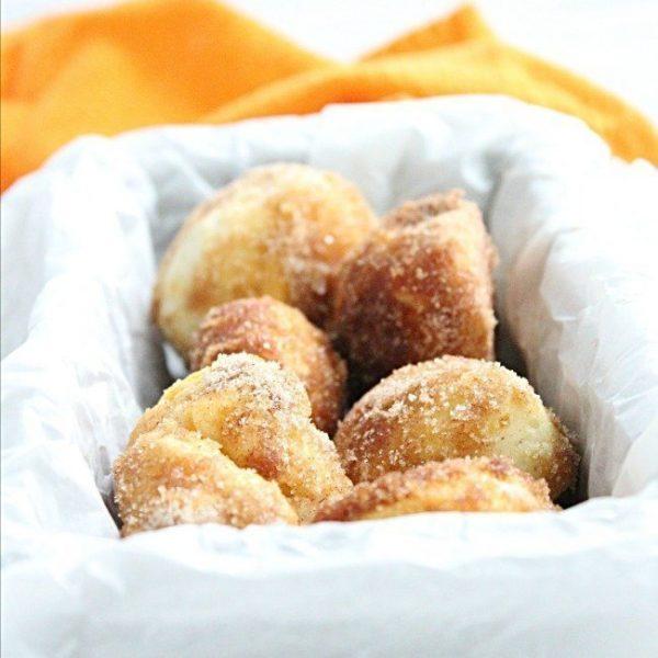 Semi Homemade Cinnamon Sugar Pumpkin Doughnuts #doughnuts #donuts #pumpkin #cinnamonsugar #tableforsevenblog
