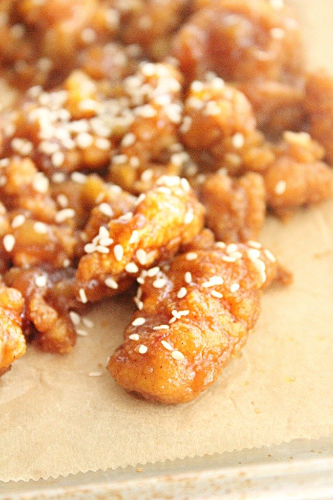 Shortcut Sweet and Sour Chicken- Table for Seven #sweetandsour #chicken #shortcut #dinner #30minutemeal