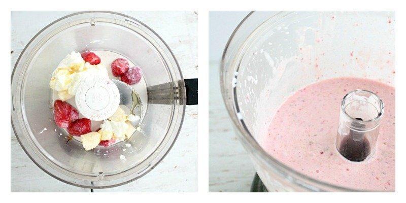 Strawberry Banana Smoothie #strawberry #banana #smoothie #tableforsevenblog #beverage #drink #breakfast