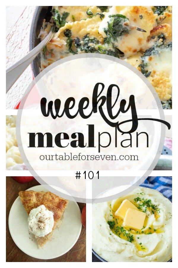 Weekly Meal Plan 101 -Table for Seven #mealplan #menu #mealplanning