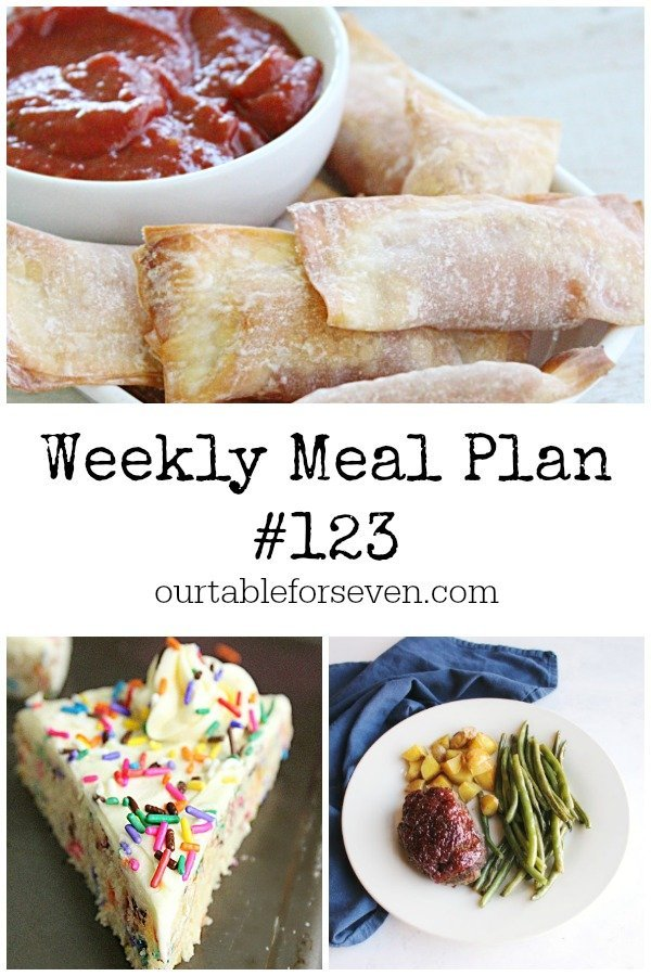 Weekly Meal Plan 123