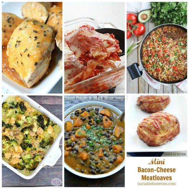 Weekly Meal Plan 68 #tableforsevenblog #mealplan #menuplan