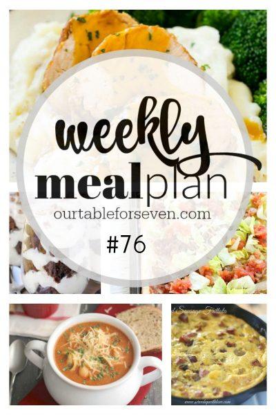 Weekly Meal Plan #76