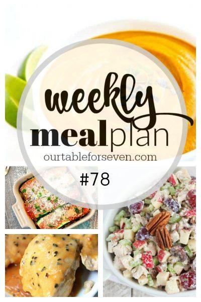 Weekly Meal Plan #78