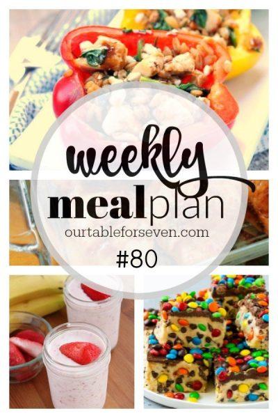 Weekly Meal Plan #80