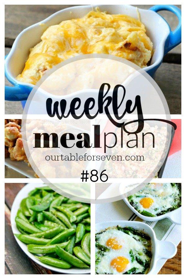 Weekly Meal Plan 86 #menuplan #menuplanning #mealplanning #tableforsevenblog
