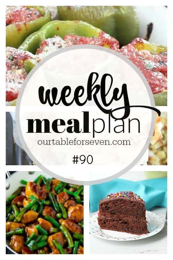 Weekly Meal Plan 90 #tableforsevenblog #menuplanning #mealplanning #mealplan