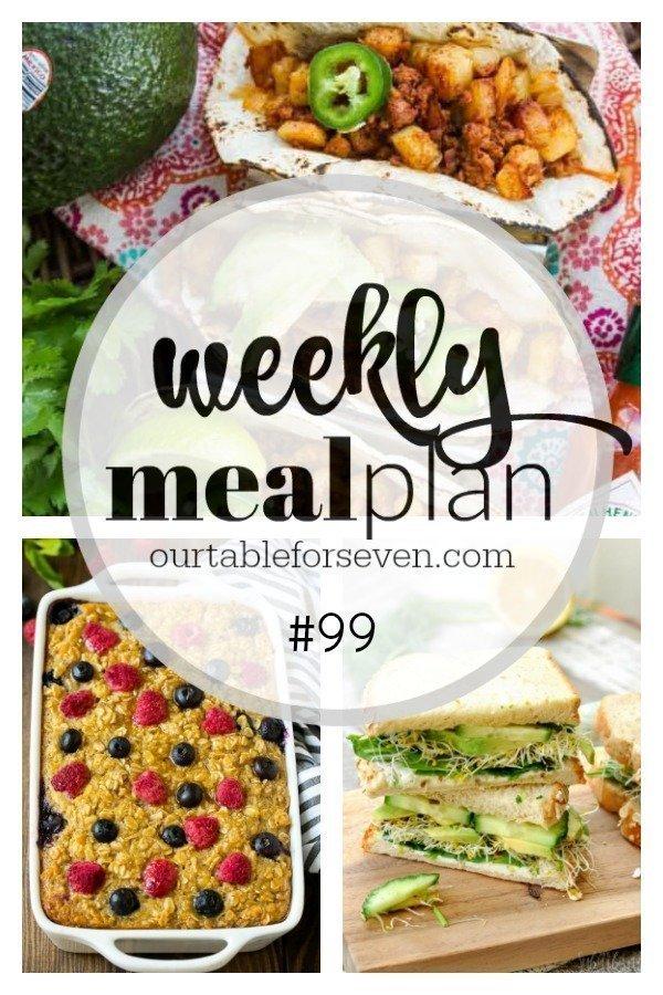 Weekly Meal Plan 99 #menu #mealplan #mealplanning